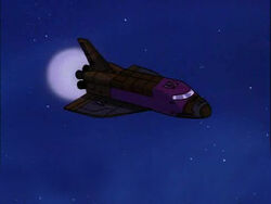 Space blastoff