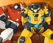Transformers Lambo Love