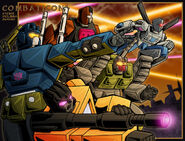 Combaticon charge by WaywardInsecticon
