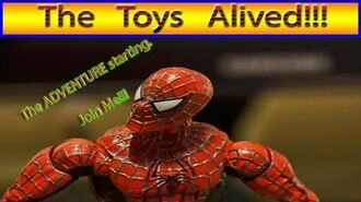 Super heroes ADVENTURE channel opened - The first adventure video Spider-man Stop Motion - Wait!!!