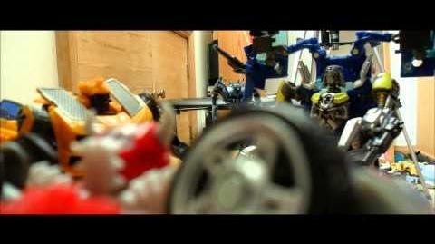 Transformers Stop Motion Test Scene Part 2