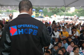 Operation Hope Crowd