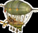 Cyclone airship