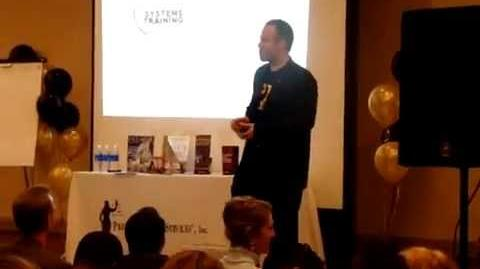 Travis Alexander as Motivational Speaker (dated Jodi Arias)