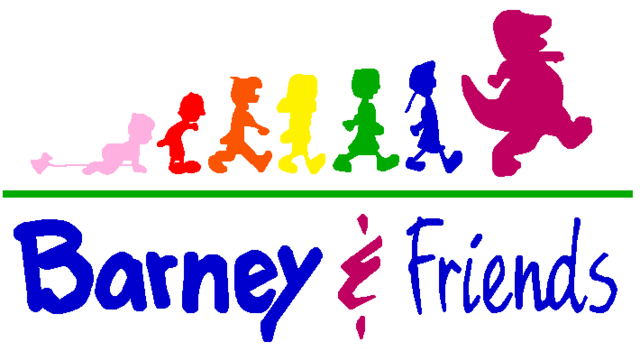 File:Barney & Friends Logo.png