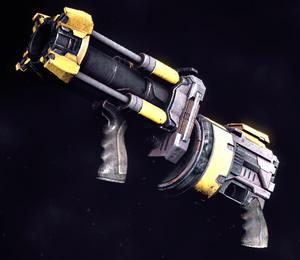 Raider grenade launcher