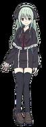 Illia full body character design AN