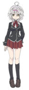Yui Kurata Anime Character Full Body