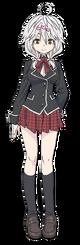 Yui Kurata Anime Character Full Body
