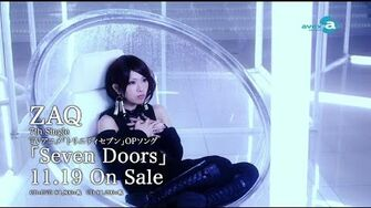 ZAQ TVアニメ「トリニティセブン」オープニングテーマソング「Seven Doors」 PV-0