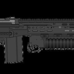 FMA-719, Standard Ballistic Assault Rifle.