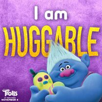 Biggie - I am HUGGABLE