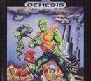 Toxic Crusaders (SEGA Genesis)