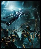 Tron-Evolution Concept Art by Daryl Mandryk 03a