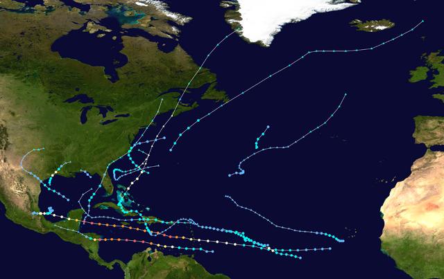 File:2007 Atlantic hurricane season summary map.png
