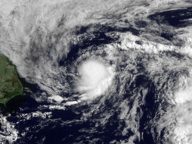File:Tropical Depression One 2009 GOES.jpg
