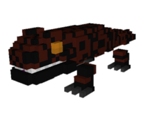 Gila Monster model