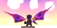 Wings Midnight Mantle