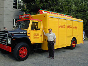 International-Harvester S-Series Coca-Cola truck