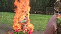 Beulah burning