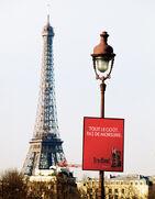 French billboard