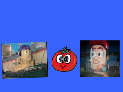 Theodore,George and the Tomato Surprise