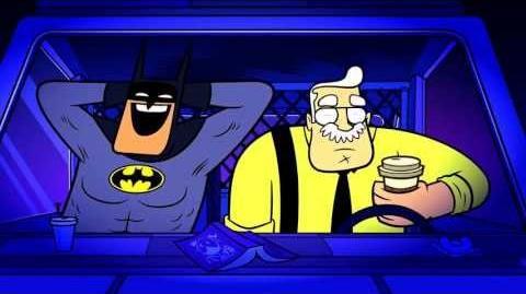 Batman Laughing in Teen Titans Go!