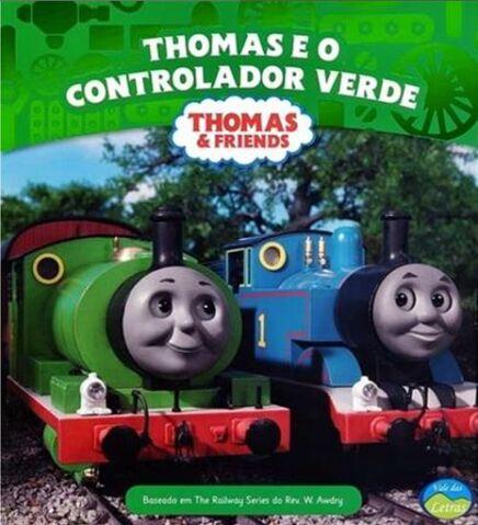File:ThomasandtheGreenControllerPortugueseBook.jpeg