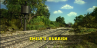 Emily's Rubbish