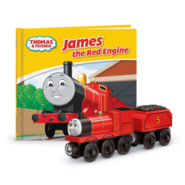 JamesWoodenRailwayStoryLibraryBookPack