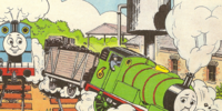 Thomas, Percy and the Coal (magazine story)