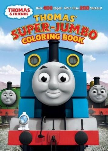 Thomas' Super-Jumbo Coloring Book   Thomas the Tank Engine ...