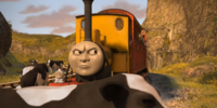 Duncan and the Grumpy Passenger