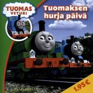 Thomas' Crazy DayFinnishBook