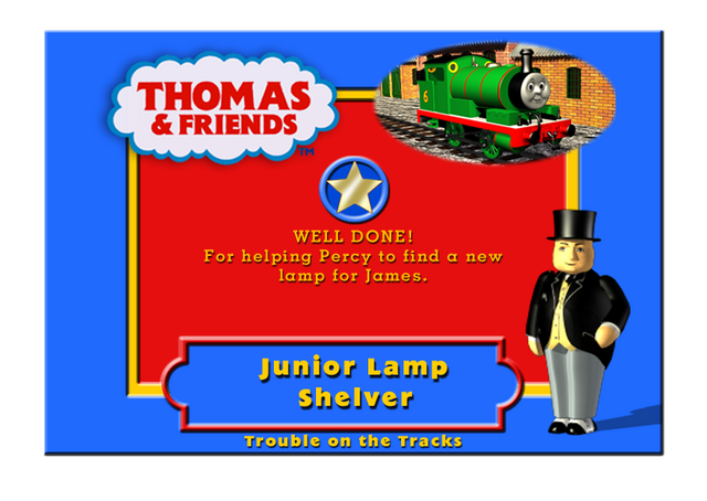 File:TroubleOnTheTracksCertificateJuniorLampShelver.png