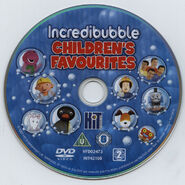 IncredibubbleChildren'sFavouritesDVDdisc