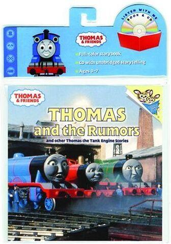 File:ThomasandtheRumorsandOtherThomastheTankEngineStoriesbookandCD.jpg