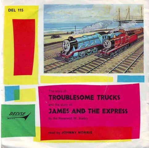 File:TroublesomeTrucksandJamesandtheExpressrecord.jpg