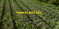 Thomas Sets Sail