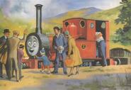 原作第17巻のスカーロイ鉄道の乗客