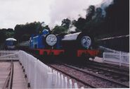 Thomas, Wilbert and Daisy at the DFR in 1998