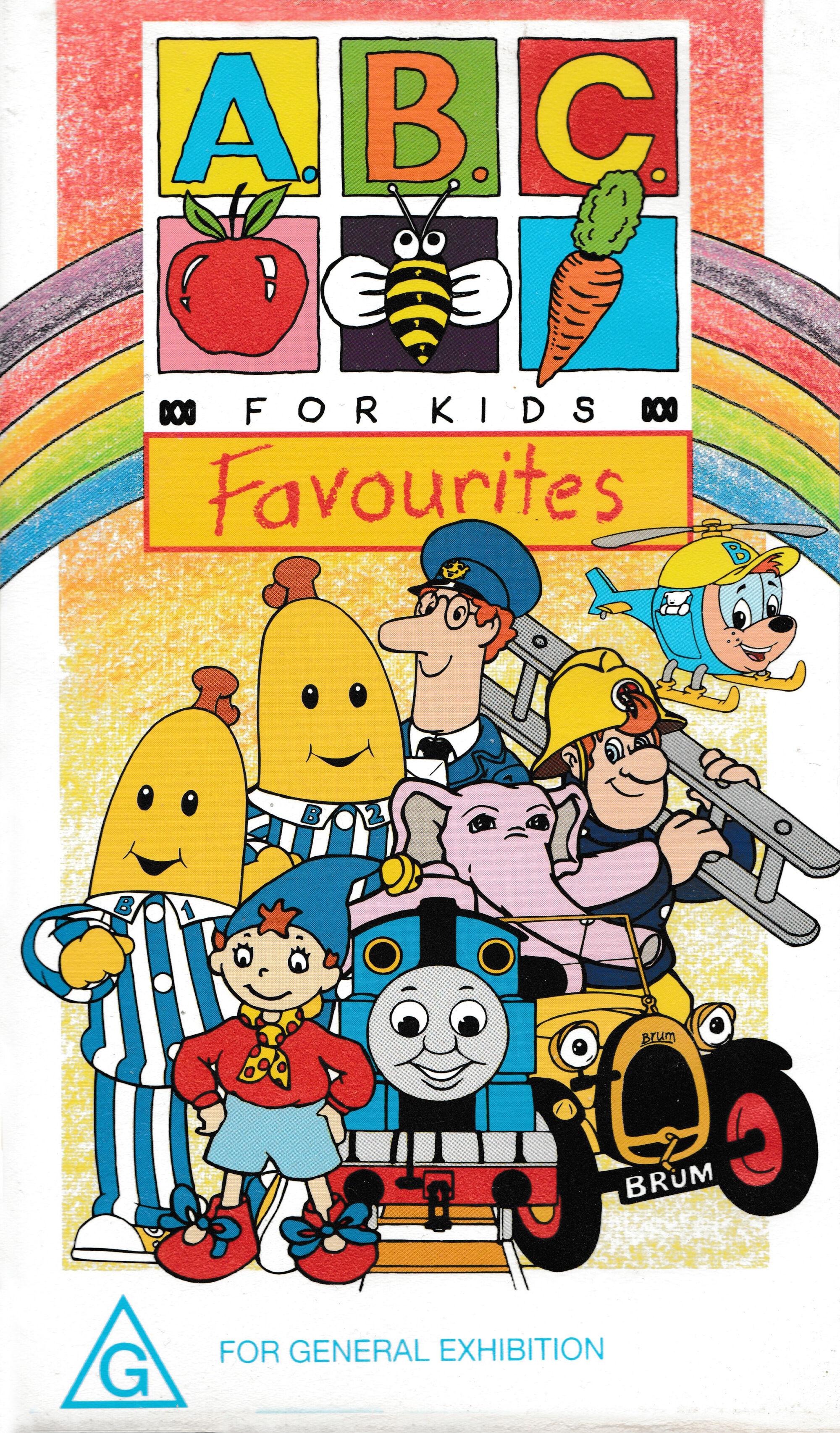 ABC For Kids Favourites Thomas the Tank Engine Wikia