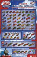 TrackMaster(Fisher-Price)2010CollectorChecklistfront