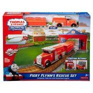 TrackMaster(Fisher-Price)FieryFlynn'sRescueSetbox