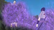 Tangan Susanoo Sasuke