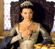 Natalie Dormer as Anne Boleyn in The Tudors.-0