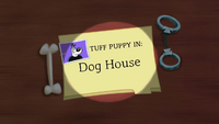 Dog House Title Card