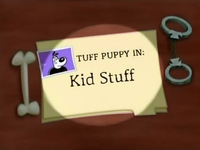 Kid Stuff Title Card