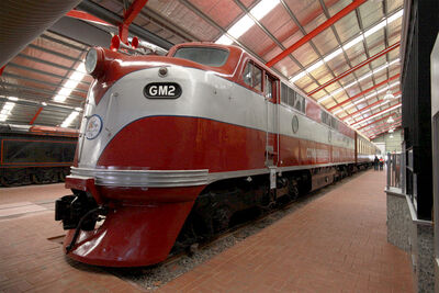 GM2 National Railway Museum Port Adelaide