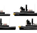 C Funnel tugs